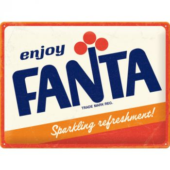 Kilpi 30x40 Fanta - Logo