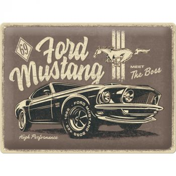 Kilpi 30x40 Ford Mustang - The Boss