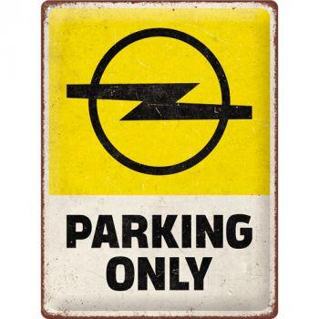 Kilpi 30x40 Opel - Parking
