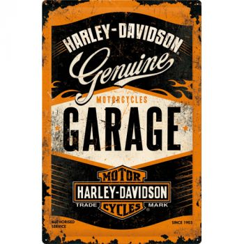 Kilpi 40x60 Harley-Davidson Garage