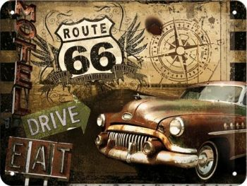 Kilpi 15x20 Route 66 Drive & Eat