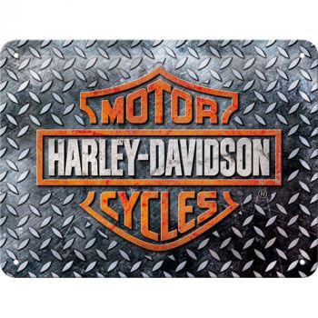 Kilpi 15x20 Harley-Davidson - Diamond Plate