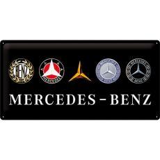 Kilpi 25x50 Mercedes-Benz logot