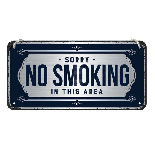 Kilpi 10x20 Sorry, No Smoking!