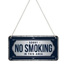 Kilpi 10x20 Sorry, No Smoking!