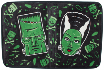SOURPUSS - The Monsters Bath Mat