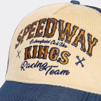 King Kerosin - Lippis - TRUCKER CAP MIT CORD-FRONT