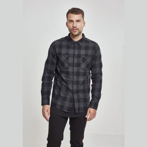 FLANELLI KAULUSPAITA - Checked Flanell Shirt CHA - URBAN CLASSICS