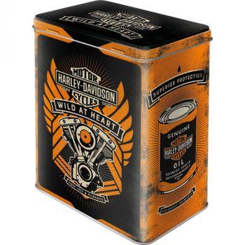 Säilytyspurkki L Harley-Davidson Wild at Heart