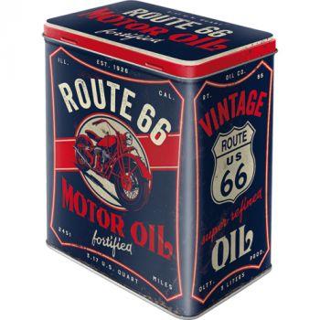 Säilytyspurkki L Route 66 Motor Oil