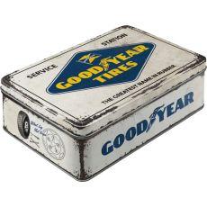 Säilytyspurkki flat Goodyear logo