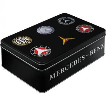 Säilytyspurkki flat Mercedes-Benz logot