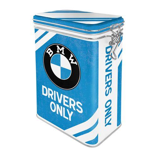 Säilytyspurkki klipsillä BMW Drivers Only