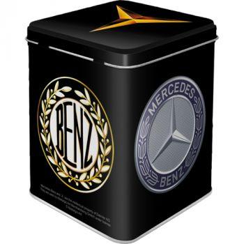 Säilytyspurkki - Tea Box Mercedes Benz Logo Evolution