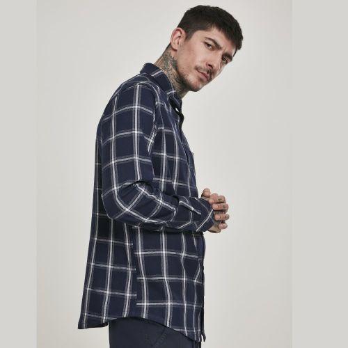 FLANELLI KAULUSPAITA - Basic Check Shirt - URBAN CLASSICS