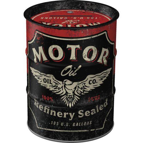 Säästölipas (tynnyri) Motor Oil