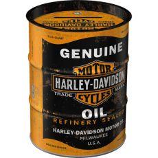 Säästölipas (tynnyri) Harley-Davidson - Genuine Oil