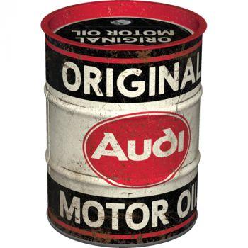 Säästölipas (tynnyri) Audi - Original Motor Oil