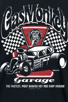 T-PAITA GMG - BADASS GAS MONKEY GARAGE