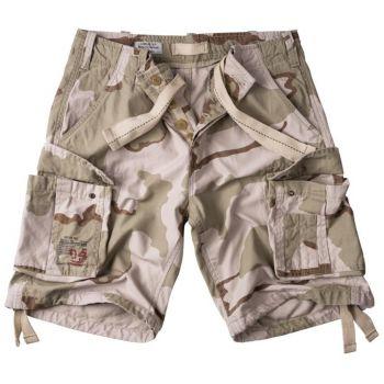 SHORTSIT - Airborne Vintage Shorts 3 COLOR DESERT - SURPLUS