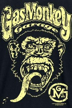 T-PAITA GMG - MONKEY GARAGE BIG BRAND LOGO