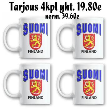 MUKI - SUOMI FINLAND LEIJONA