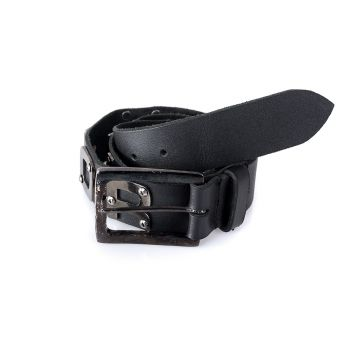 VYÖ - leather belt Rivet - THOR STEINAR