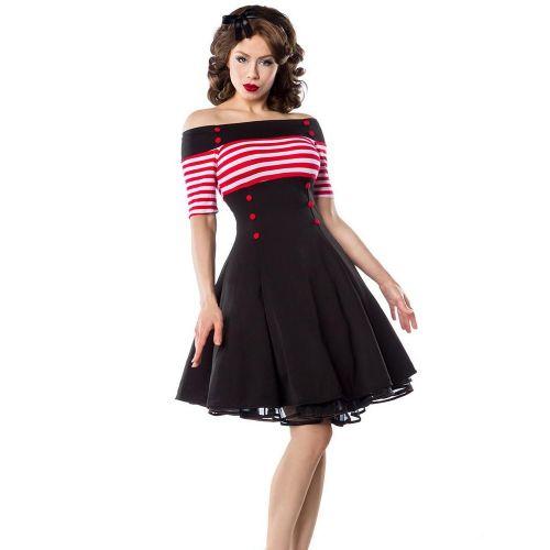 KELLOMEKKO - Vintage Dress PUNAINEN (5)