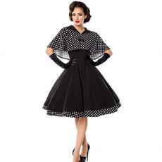 KELLOMEKKO - Swing-Kleid mit Cape (17)
