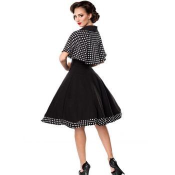 KELLOMEKKO - Swing-Kleid mit Cape
