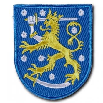 KANGASMERKKI - LEIJONA (SININEN) (50439)
