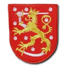 KANGASMERKKI - LEIJONA (PUNAINEN) (50442)