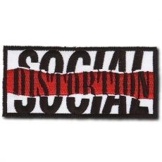 KANGASMERKKI - SOCIAL DISTORTION (50582)