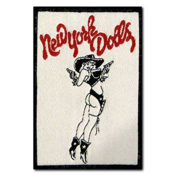 KANGASMERKKI - NEW YORK DOLLS (50611)
