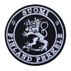 KANGASMERKKI - SUOMI FINLAND PERKELE (50623)