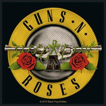 KANGASMERKKI - GUNS ´N ROSES pistols (50634)