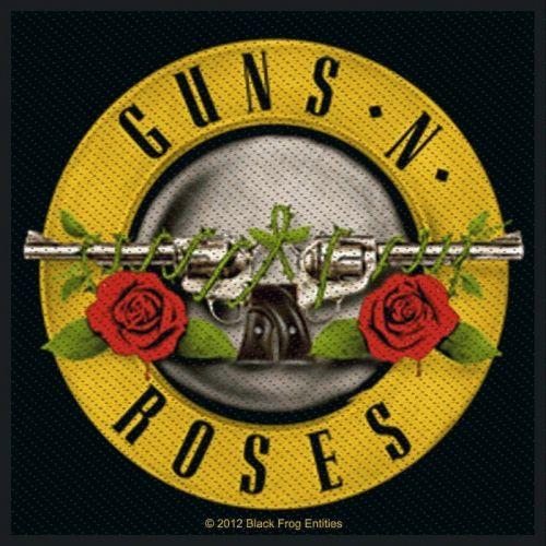 KANGASMERKKI - GUNS ´N ROSES pistols (50732)