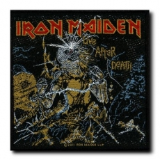 KANGASMERKKI - IRON MAIDEN - AFTER DEATH (50774)
