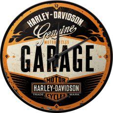 Seinäkello Harley-Davidson Garage