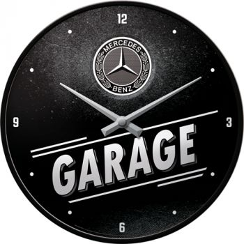 Seinäkello Mercedes-Benz - Garage