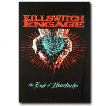 SEINÄLIPPU - KILLSWITCH ENGAGE - THE END OF HEARTACHE (5754)