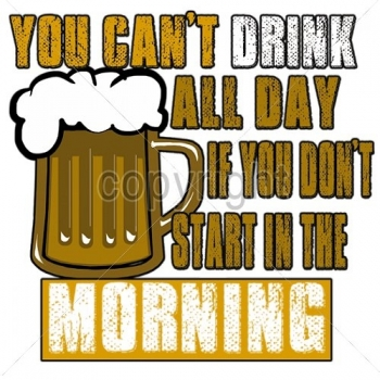 YOU CAN'T DRINK... (601A)