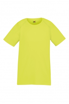 LASTEN PERFORMANCE T-PAITA Bright Yellow