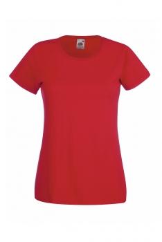 NAISTEN VALUEWEIGHT T-PAITA Red