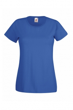 NAISTEN VALUEWEIGHT T-PAITA Royal Blue