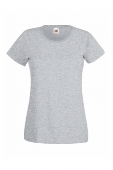 NAISTEN VALUEWEIGHT T-PAITA Heather Grey