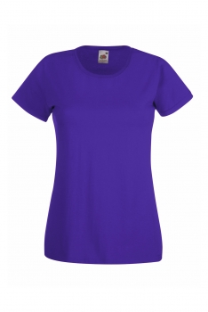 NAISTEN VALUEWEIGHT T-PAITA Purple