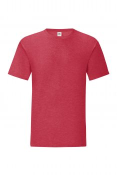 ICONIC T Heather Red