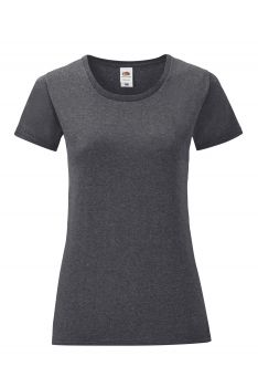 NAISTEN ICONIC T Dark Heather Grey