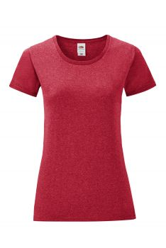 NAISTEN ICONIC T Heather Red